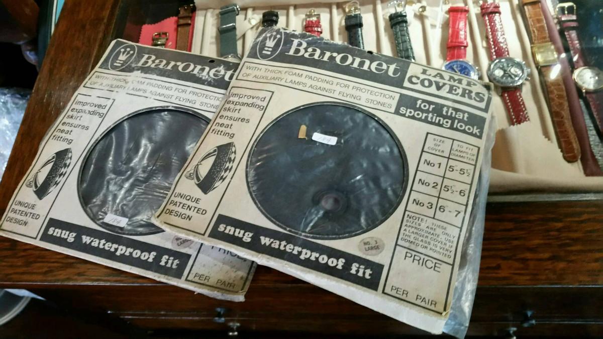 Baronetのランプカバー