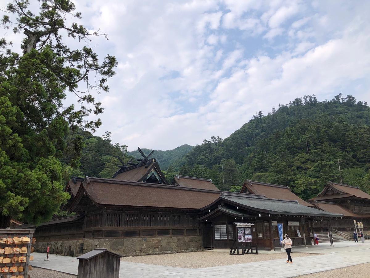松江城に出雲大社
